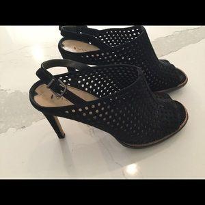 Via Spiga perf mule heels